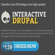 PSD to Drupal Company