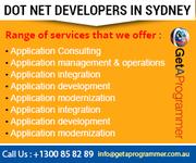 Seek Assistance of Dedicated Dot Net Developers of Sydney