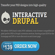 Best PSD to Drupal Conversion
