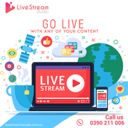 LIVE STREAM STUDIO MELBOURNE,  LIVE STREAMING AND VIDEO PRODUCTION