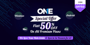 TheOneSpy Flat 50% OFF using coupon code OFF50